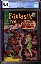 Fantastic Four # 66 CGC 9.0 White (Marvel, 1967) Origin of Warlock begins