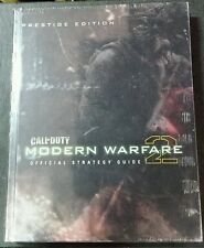 Call of Duty: Modern Warfare 2 Prestige Edition Strategy Guide Hardcover Sealed