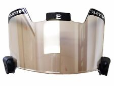 Authentic Elitetek Football Visor MIRROR Tint Universal Fit or Your Money Back
