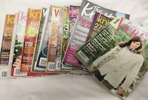 lot KNITTING magazines VOGUE International knit.1 pattern plans fashion