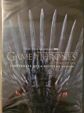 Coffret DVD : Game of thrones - Intégrale saison 8 - NEUF