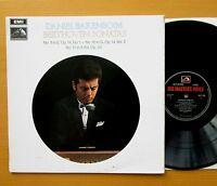 HQS 1206 Barenboim Beethoven Sonatas nos. 9 10 12 1970 HMV Stereo NM/EX