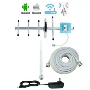 Cell Phone Signal Antennae AT&T Verizon US Cellular 4G Amplifier Set NO Booster