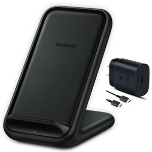 Samsung Wireless Fast Charging 2.0 Stand w/ 25W Wall Charger Qi Enabled US Model