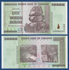 SIMBABWE / ZIMBABWE 50 Trillion Dollars 2008  UNC  P. 90