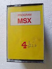 Msx Program msx n.4