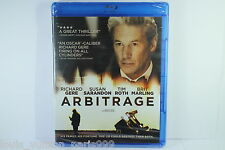 ARBITRAGE BLU RAY DISC BNEW SEALED