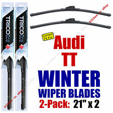 WINTER Wipers 2-Pack Premium Grade - fit 2000-2006 Audi TT - 35210x2