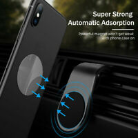 6PCS Metal Plate Disc for Cell Phone Magnet Holder Magnetic Car Mount StickerPY