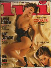 French magazine LUI Lisa Lyon  Rambo Stallone Clint Eastwood Coluche