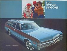 Dodge Coronet Polara MONACO carri 1972 ORIGINALE CHRYSLER USA FOLDOUT opuscolo