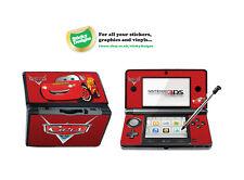 Cars Rayo McQueen carcasa de vinilo adhesivo para Nintendo 3ds