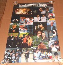 Back Street Boys Collage 2000 Original Poster RARE 23x35