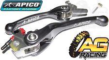 Apico Flexi Lever Set Titanium Clutch Lever Brake Lever KTM SXF 450 2003-2008