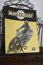 Vintage rivista MOTO N°37 - 1° Giugno 1950 - la RV Tedesca