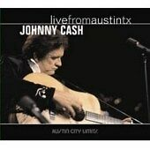 Johnny Cash Live From Austin TX sealed CD 2007 June Carter Cash