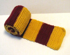 Homemade Scarf Red and Gold