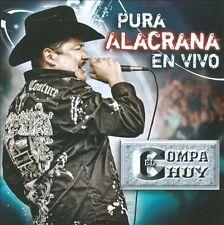 FREE US SHIP. on ANY 3+ CDs! USED,MINT CD El Compa Chuy: Pura Alacrana En Vivo