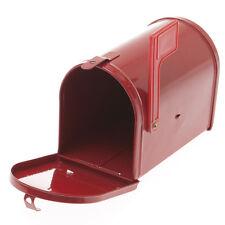 NEW Mini Red Tin Mail Box