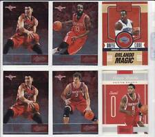 JEREMY LIN - 2 x 2012-13 Absolute, James Harden Dwight Howard Rockets 6 Card Lot