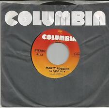 MARTY ROBBINS El Paso city US SINGLE COLUMBIA 1976