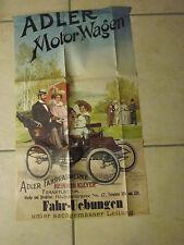 Frankfurt Archiv Edition 5 1060 Adlerwerke Plakat 1900 Faksimile