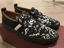 550$ Bally Herald T 00 Leather and Nylon Slip on Shoes size US 12