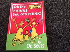 Oh the Thinks you can Think! by Dr Seuss - Vintage paperback 1976 classic collec
