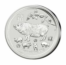 1 kg Silbermünzen in Lunar