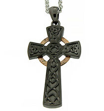 Keith Jack Jewelry Necklace - Circle Cross Pendant, Large