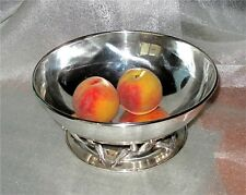 Carl Poul Petersen / Georg Jensen Canadian Sterling Silver Fruit Bowl 775 gr.