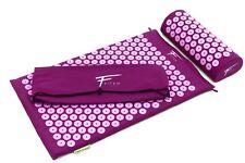 Kit d'acupression FITEM. Tapie+coussin+boule de massage Violet/fushia