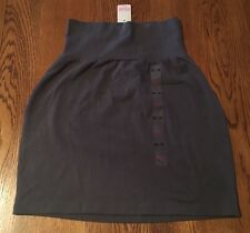 Victoria's Secret PINK Gray With Rollover Waist Skirt Junior's XS NWT!!!