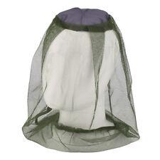 Moustiquaire de Chapeau Protection de Visage Anti-insecte Voyage Pêche Camping