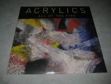 "Acrylics All Of The Fire 10"" Vinyl Reocrd non lp album songs! indie rock! NEW!!!"