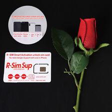 RSIM 12 R-SIM Sup Nano Unlock Card fits iPhone Xs Max X/8/7/6/6s/5S/ 4G iOS 10