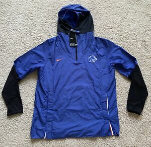 Nike Boise State Broncos Official On Field 1/4 Zip Jacket (L) CQ5208-480