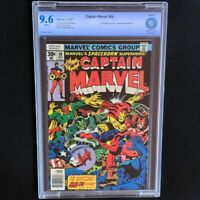 Captain Marvel #50 (1977) 💥 CBCS 9.6 NM+ 💥 1st Appearance of Dr. Minerva! Rare