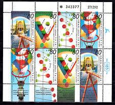 SCIENTIFIC CONCEPTS SOUVENIR SHEET ISRAEL Sc#1162a SUPER MNH