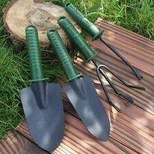 4Pcs/Set Garden Tools Trowel Rake Shovel Heavy Duty Metal Outdoor Ergonomic Tool