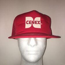St Louis Hat Trucker Hat Baseball Cap CENEX Logo Hat Snapback Mesh Vintage Red
