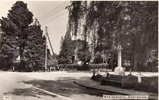 War Memorial West Moors Nr Ferndown Wimborne unused RP  PC Dearden & Wade 1071