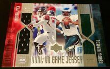 2004 Upper Deck VM-2J Michael Vick/ Donovan McNabb Dual Jersey SP Falcons Eagles