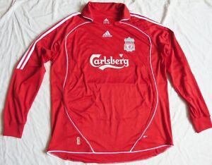 LIVERPOOL FC #50 HARLE Adidas Home LS Shirt 2006/08 (2XL)