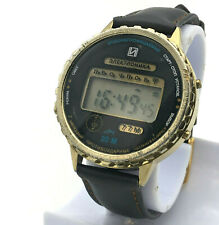 Waterproof ELEKTRONIKA 77 M Sport Digital Retro Watch Alarm Melodies Men's