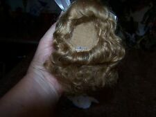 FRENCH 100%  MOHAIR WIG DARK BLONDE SIZE 5-6