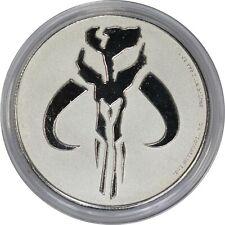 2020 Niue Mandalorian Mythosaur Star Wars 1 oz Silver BU Coin in Capsule