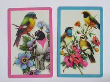 Colorful Birds Pair of Swap Playing Cards