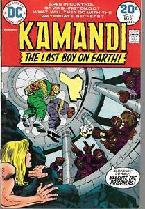 Kamandi Last Boy on Earth 15 (1974) High Grade Kirby
