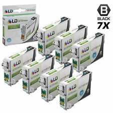 LD © Remanufactured Epson T126120 Set of 7 High Capacity Black Ink